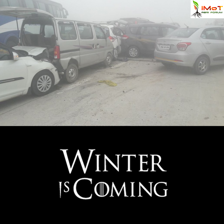 Winter is coming...! Stay Safe Northeners...!! Beware of Smog...!!!