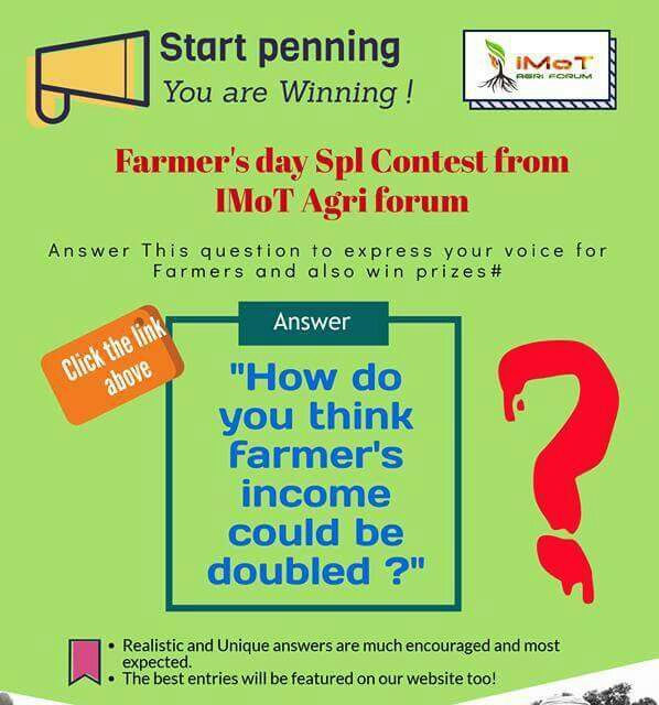 Farmers day contest