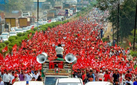 kisan long march maharastra