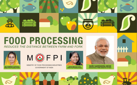 schemes food processing ministry
